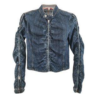 Nolita n.y.c. Soft Denim Ruffled Jacket